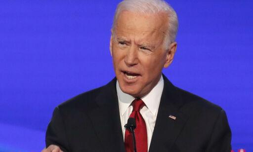 image: Biden forsvarte sønnen under TV-debatt