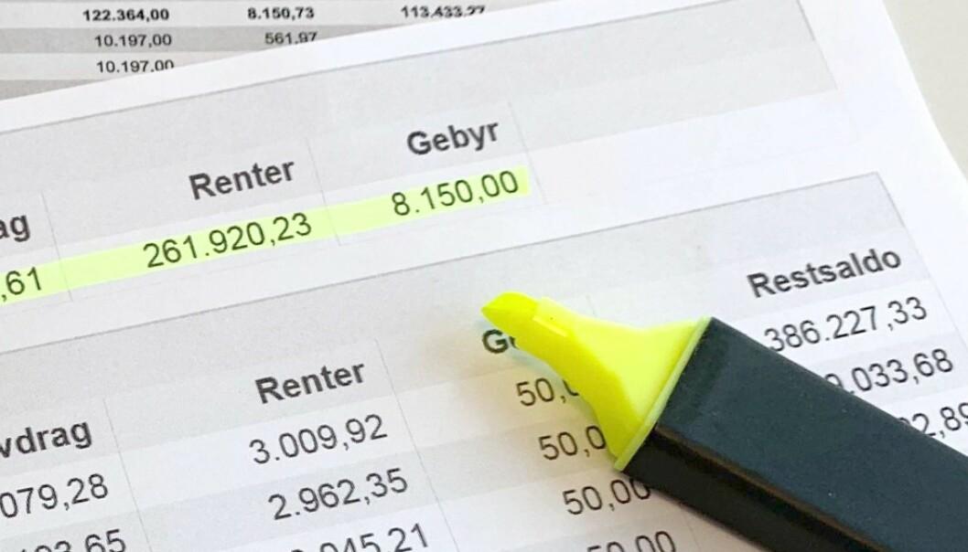 Gjør boliglånet hundre tusen kroner billigere