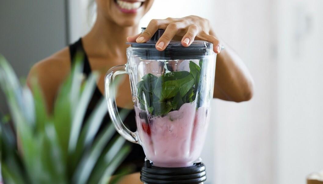 SPIS SUNT: En sunn livsstil reduserer det dårlige kolesterolet. FOTO: Scanpix