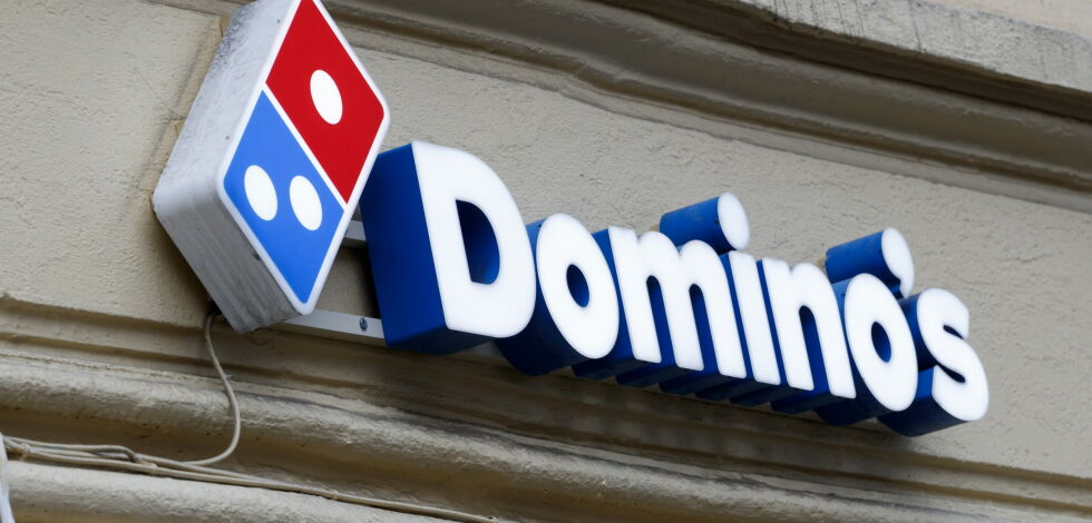 image: Dominos pizza forlater Norge