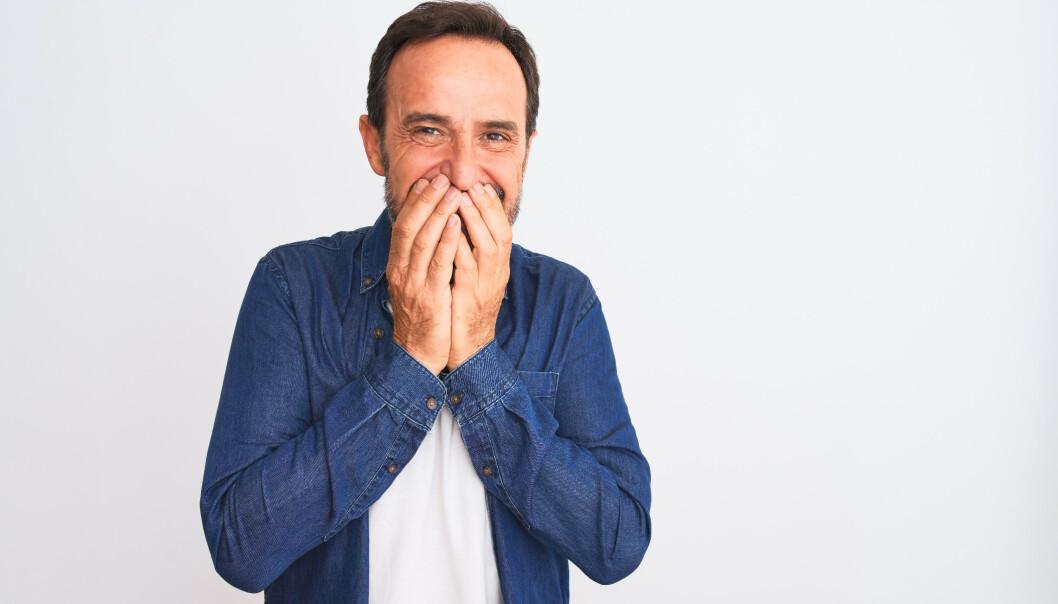 <strong>FOBI:</strong> Noen av oss er så bekymret for å ha dårlig ånde at skrekken har fått et navn: Halitofobi. Foto: Shutterstock