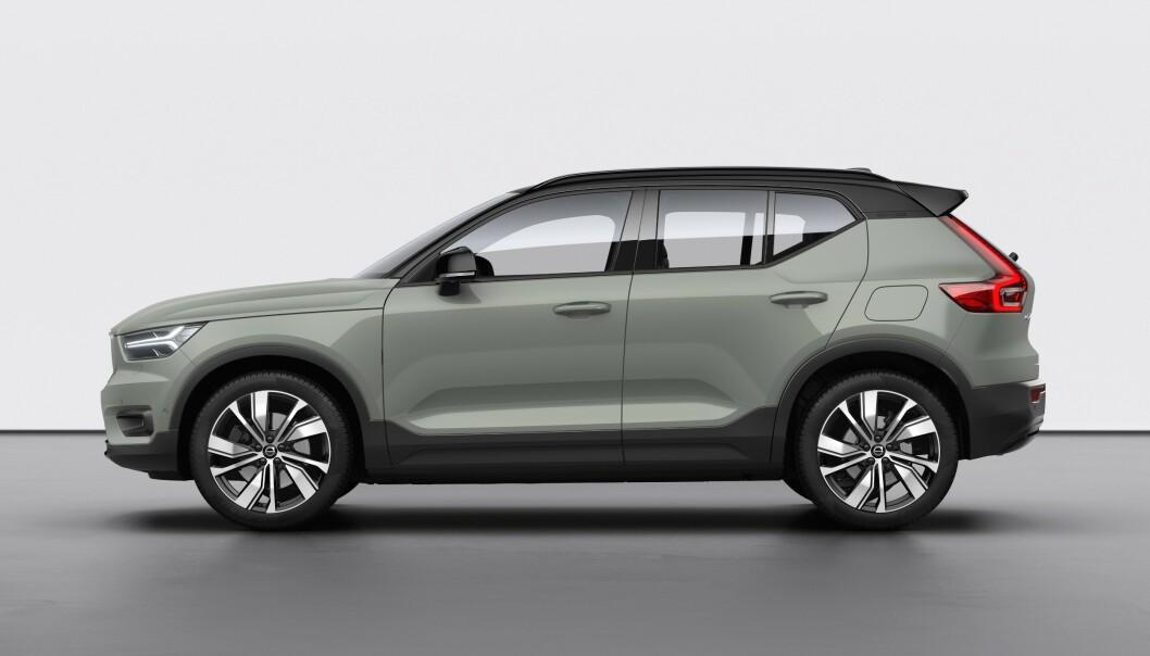 KLIMASATSING: Volvos første elbil XC40 Recharge skal bare være starten på merkets klimasatsing. Foto: Volvo