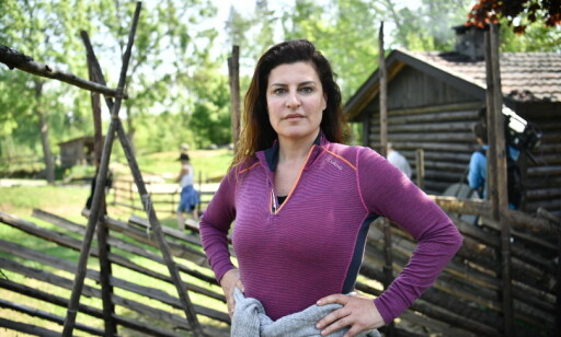 FARMEN: Donna Ioanna har ikke spist gris eller lam siden hun deltok i «Farmen Kjendis» i fjor. Foto: Lars E. Bones / Dagbladet