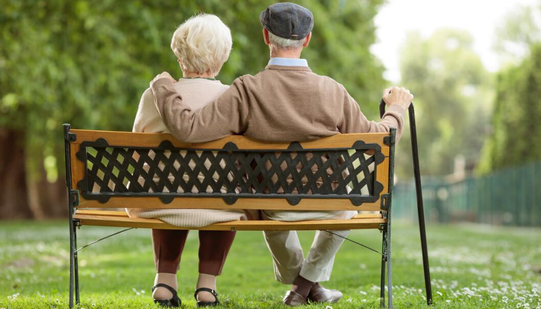 LUKTEN AV ELDRE: Har du lagt merke til at mange eldre har en spesiell duft? Det er det all grunn til. Foto: Shutterstock