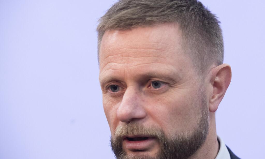 Helseminister Bent Høie (H) går kraftig ut mot hets mot homofile etter det han kaller «en trist uke». Foto: Terje Bendiksby / NTB scanpix