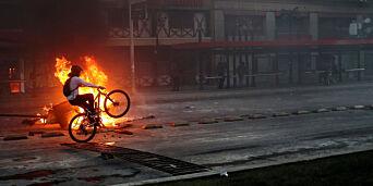 image: Opptøyer i Chile etter økte billettpriser