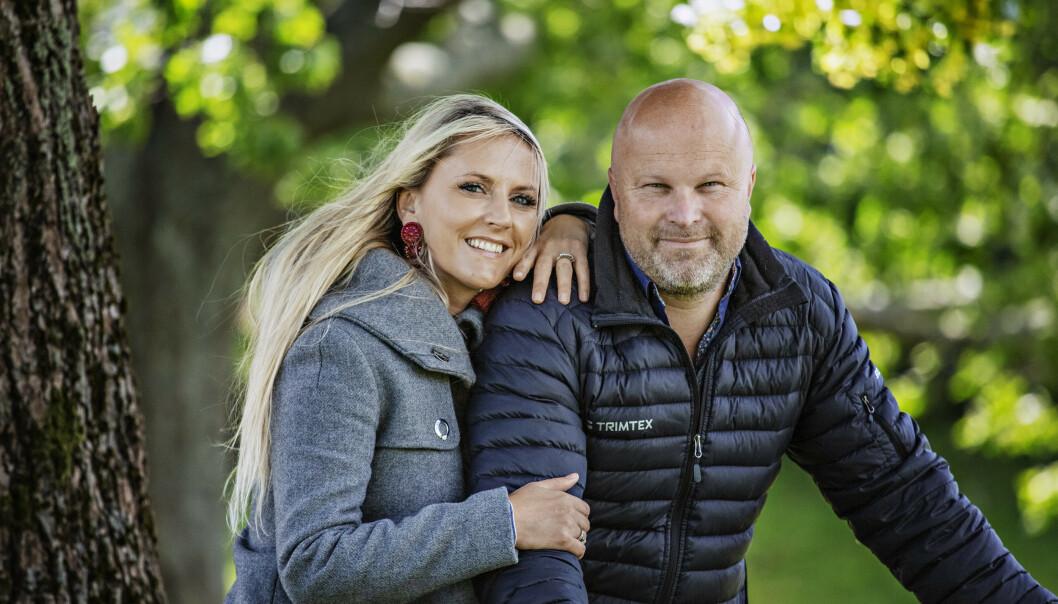 NYTT BARN: Maria Arredondo og Torstein Sødal blir foreldre igjen. Foto: Jørn H Moen / Dagbladet