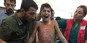 image: Facebook stoppet Syria-bilde