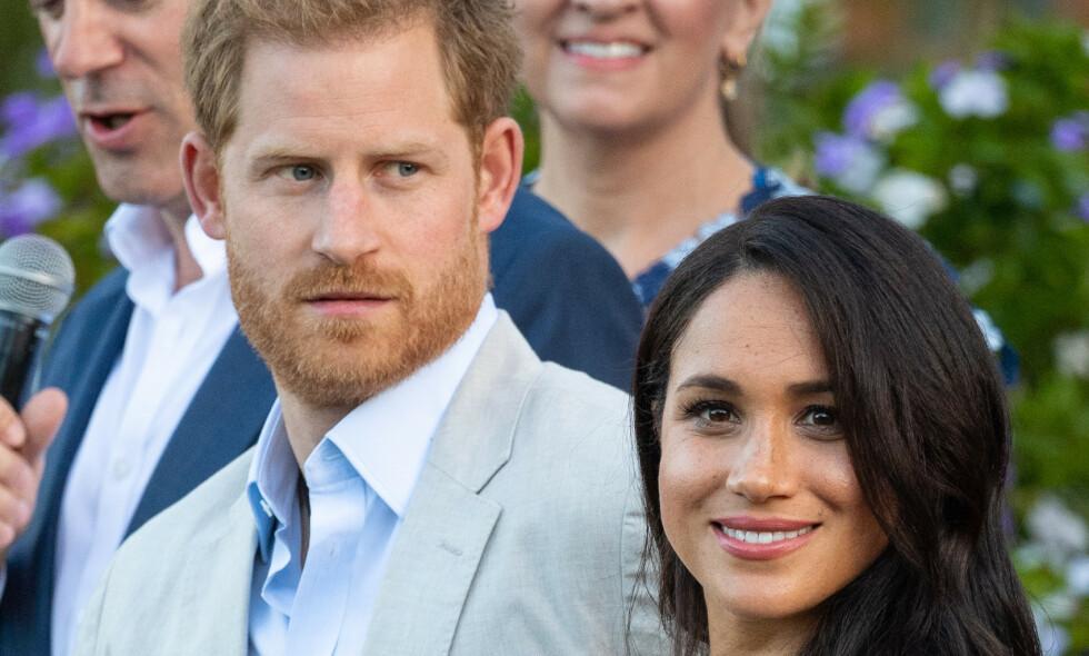 REISER BORT: Prins Harry og hertuginne Meghan skal ha behov for mer familietid. Foto: NTB Scanpix