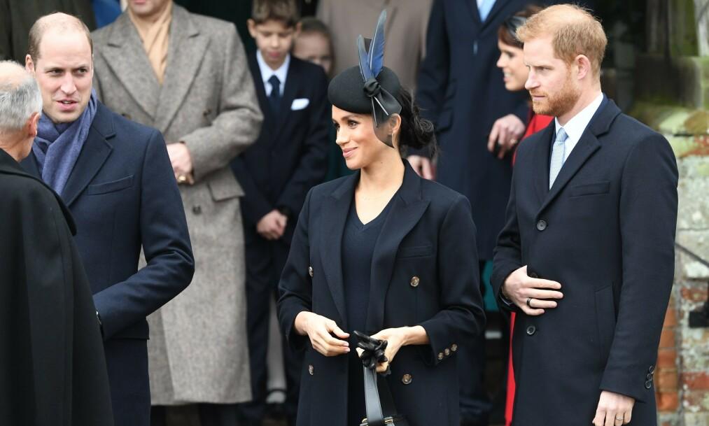 KONFLIKT: Tidligere i år gikk det mange rykter om at prins Harry og prins William ikke lenger kom overens. Nå tar førstevnte bladet fra munnen. Foto: NTB Scanpix