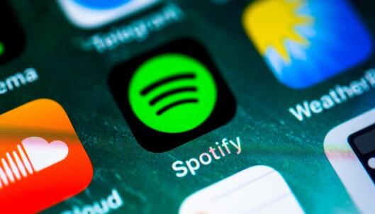 SPOTIFY: Har du Android og laster ned Spotify-appen får du tilgang til et gigantisk bibliotek med musikk og podcaster. Foto: NTB Scanpix