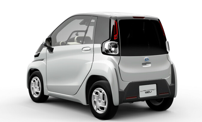 LITEN: Toyotas nye bil vil være blant de minste elbilene på markedet i 2020. Foto: Toyota