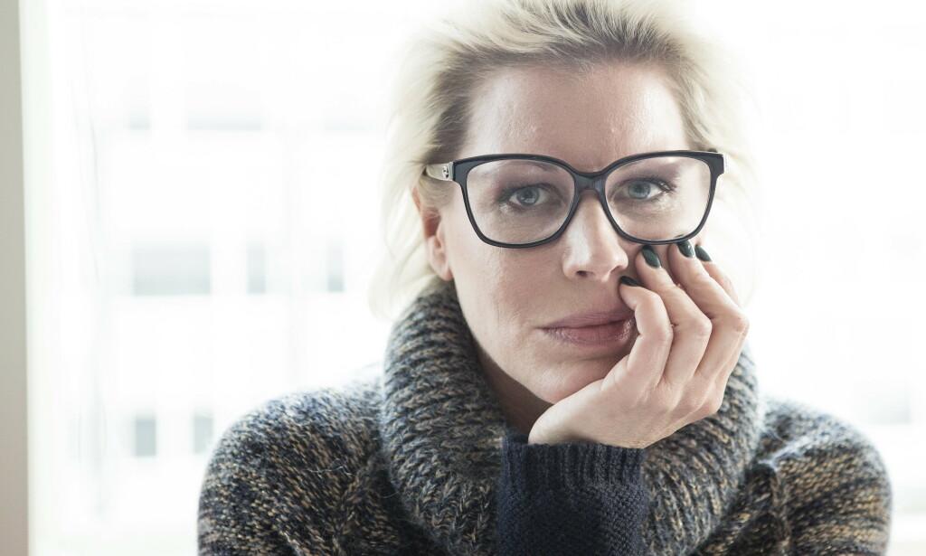 ÆRLIG: I podkasten «Sånn er du» forteller Anne-Kat. Hærland åpenhjertig om depresjonene hun har levd med siden hun var 20 år gammel. Foto: NTB Scanpix