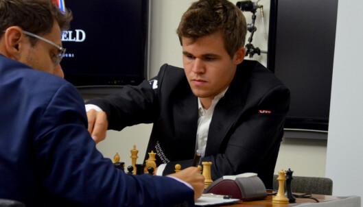 Carlsen satte rekord med remis mot Aronian – 101 strake partier uten tap