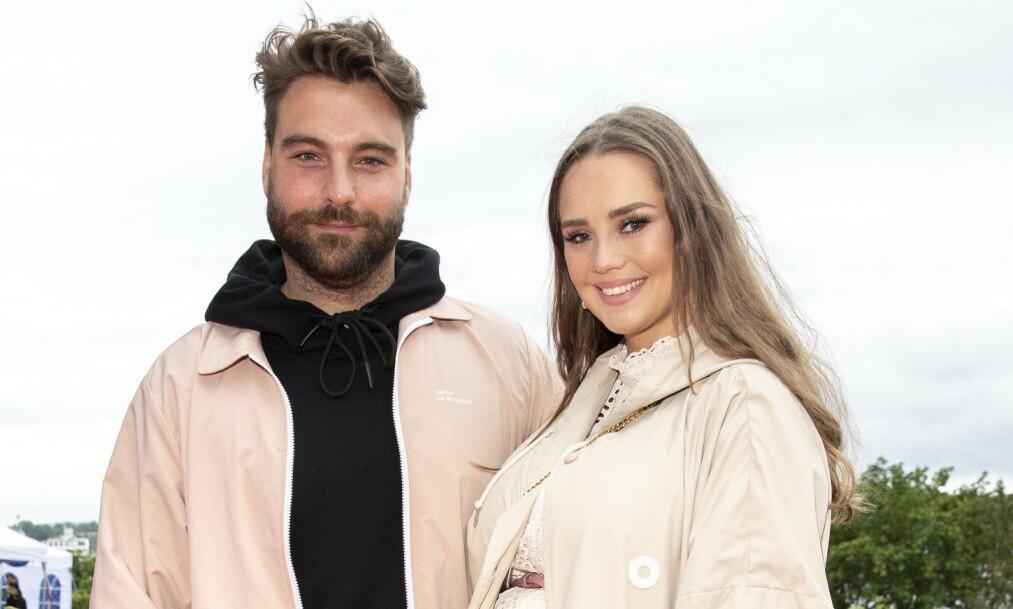 <strong>FORELDRE:</strong> Martin Danielle og kjæresten Alexandra Vackström er blitt foreldre for første gang. Foto: Andreas Fadum / Se og Hør