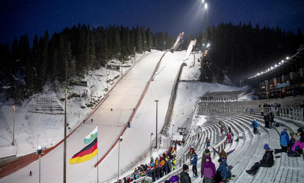 Granåsen får penger til oppgradering før VM på ski i 2025. Foto: Ole Martin Wold / NTB scanpix