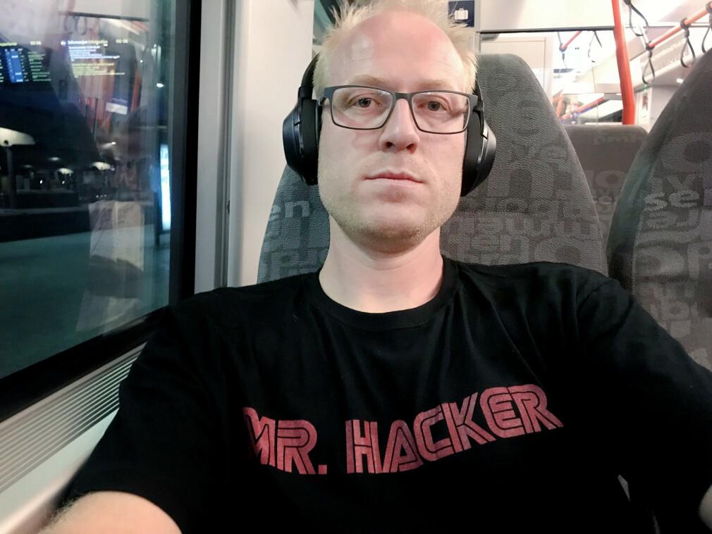 Even Lysen koder hos Visma Consulting, og har noen tanker rundt sikkerheten i blant annet GitHub. 📸: Privat