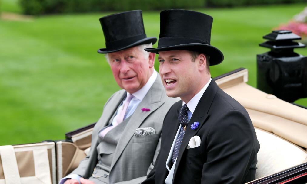 BEKYMRET: Ifølge en anonym kilde skal prins William og prins Charles være svært bekymret for prins Harry. Foto: NTB Scanpix