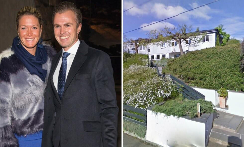 PUNGET UT: Suzann Pettersen og ektemannen Christian Ringvold har betalt nærmere 40 millioner kroner for en ny bolig i Oslo vest. Foto:Tor Lindseth/ GoogleMaps.