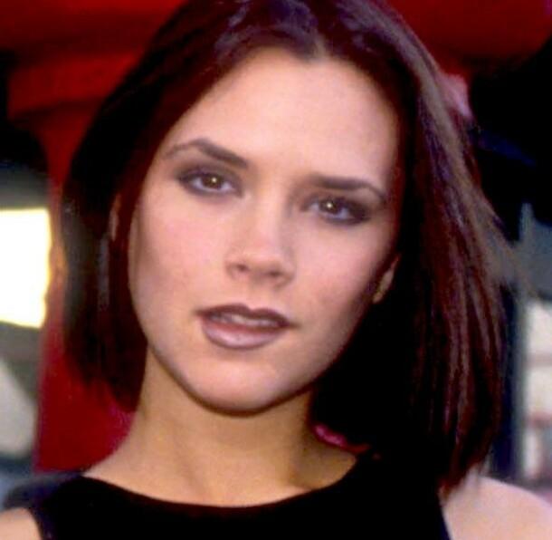 <strong>VICTORIA BECKHAM SOM UNG:</strong> Brooklyn Beckhams angivelige nye flørt er ikke helt ulik moren hans som ung kvinne - her avbildet som 22-årig Spice Girls-medlem i 1996. Foto: NTB scanpix