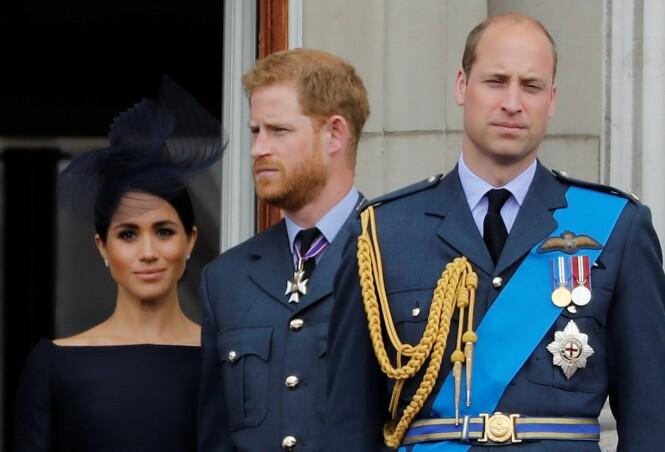 REDD FOR TILBAKEFALL: Prins William er bekymret for at prins Harry skal falle tilbake til depresjonen han gikk gjennom etter dødsfallet av prinsebrødrenes mor, prinsesse Diana. Foto: NTB Scanpix