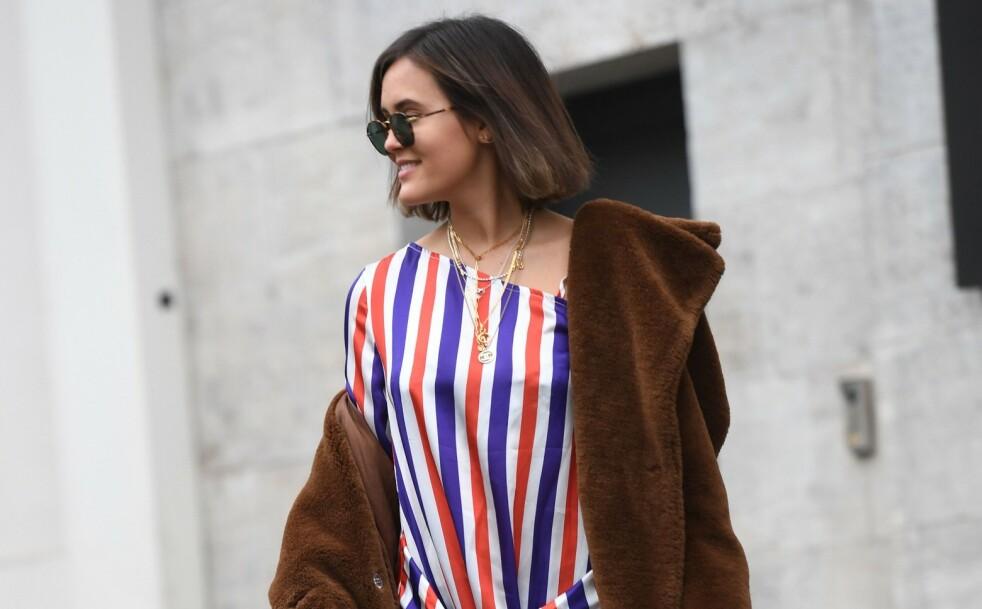 TRE FORSKJELLIGE ANTREKK: Det finnes mange måter å style en kjole på - vi viser deg tre av dem. Foto: NTB Scanpix