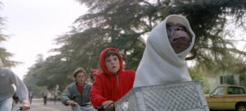 «E. T.»-stjernen arrestert