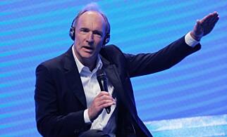 Tim Berners-Lee oppfant webben og URL-standarden. 📸: Scanpix / Roma/rex