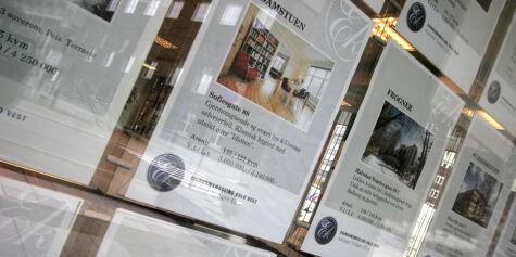 image: Sjeføkonom spår fall i boligmarkedet