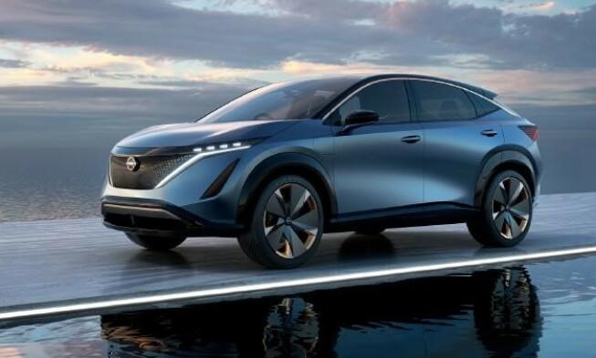 FREMTIDEN: Ariya skal vise hvordan Nissans fremtidige bildesign vil se ut. Foto: Nissan