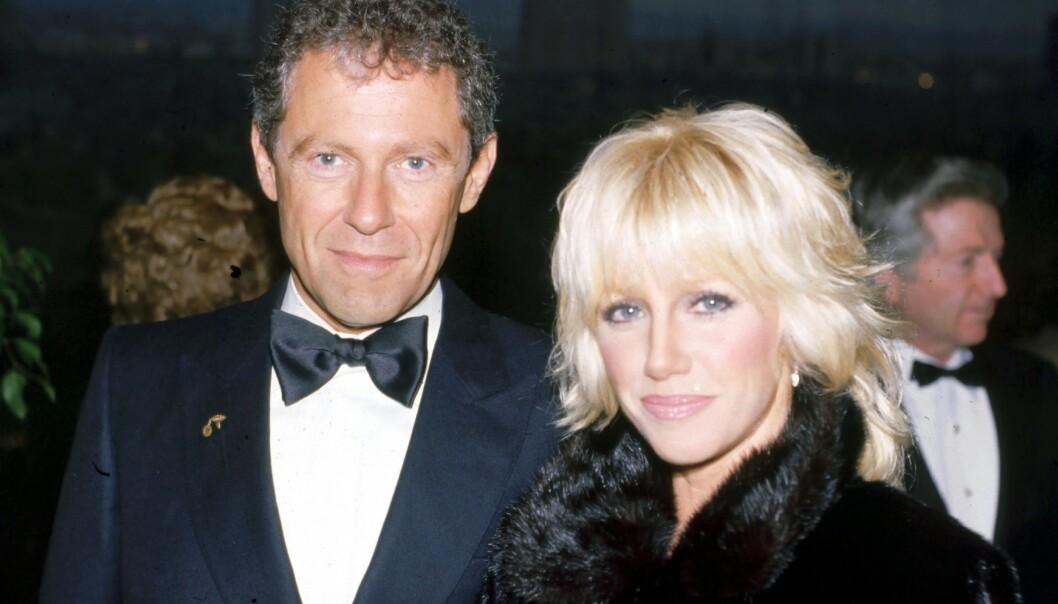DEN GANG DA: Suzanne Somers og Alan Hamel har vært et ektepar siden 1977 - men var kjærester i 10 år før de lovet hverandre evig troskap.
