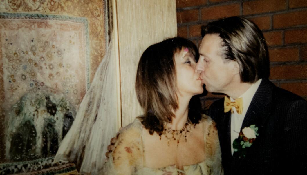 GIFT: Etter å ha kjent hverandre i flere tiår ble Jan og Eva stormende forelsket i 2001. I 2003 giftet de seg. Foto: Privat/Nina Hansen / Dagbladet