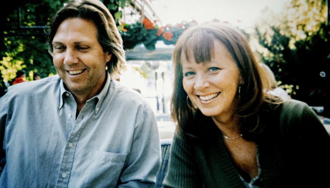 NYTT PAR: Eva synes Jan lignet på Paul McCartney da de forelsket seg i 2001. - Han var den med den gode latteren og de vakre øynene. Foto: Privat/ Nina Hansen / Dagbladet