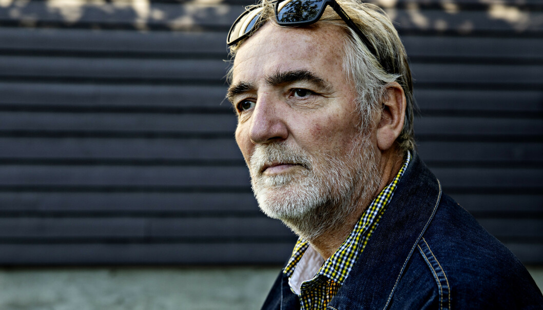 <strong>PERSONLIG TAP:</strong> Jan Erik Brodahl har opplevd å miste kolleger i krig, men han har også opplevd sorg på hjemmebane. Foto: Nina Hansen