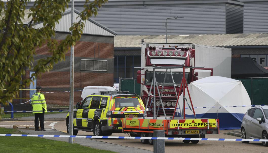 Sky News: Lastebilen med migranter skal ha vært del av en kolonne på tre