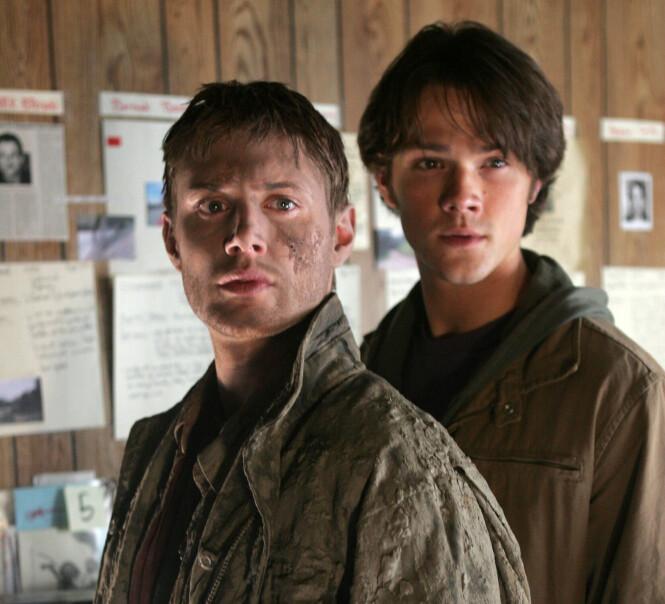STJERNER: Jensen og Jared i «Supernatural». Serien ble her til lands sendt på TVNorge. Foto: Warner Bros / NTB Scanpix