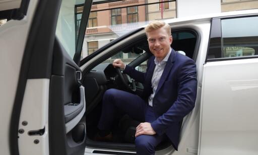 Norgessjef: Alexander Hørthe er anvsarlig for Polestar i Norge. Foto: Fred Magne Skillebæk