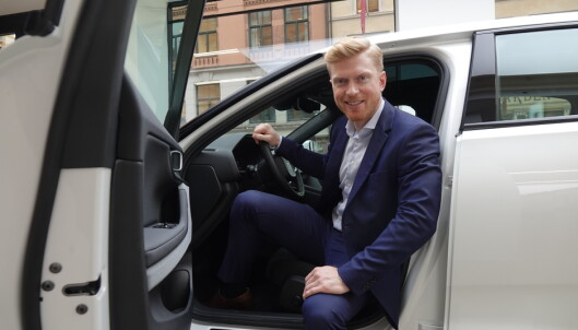 <strong>Norgessjef:</strong> Alexander Hørthe er anvsarlig for Polestar i Norge. Foto: Fred Magne Skillebæk