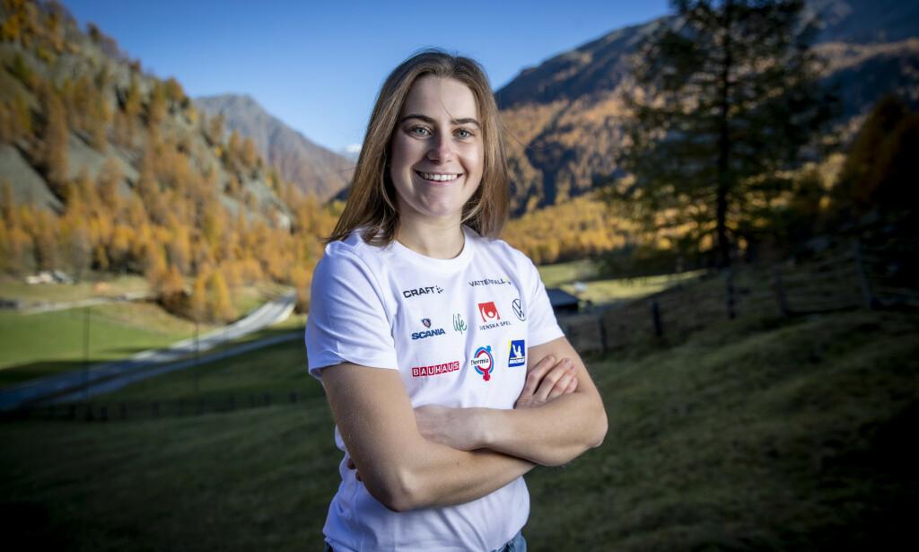OFFENSIV: Ebba Andersson ønsker å utfordre Johaug. Photo: Bjørn Langsem / Dagbladet