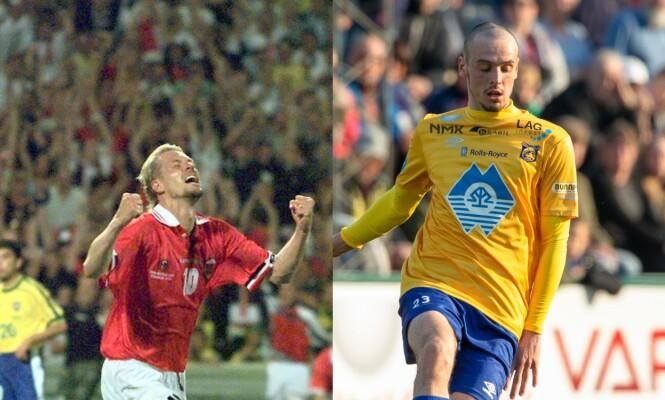 <strong>ARVET TALENT:</strong> Kjetil Rekdal var en viktig brikke da Norge slo Brasil under VM i 1998. Sønnen Niklas Rekdal er også en talentfull fotballspiller. Foto: NTB Scanpix