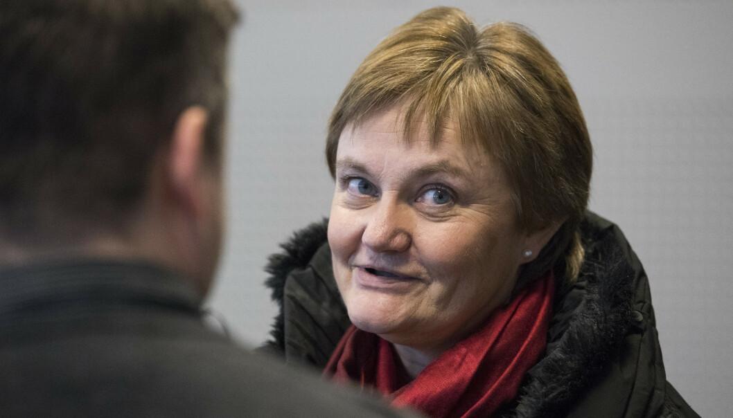 Arbeidslivspolitisk talsperson Rigmor Aasrud (Ap) sier Stortinget vil vurdere «nødvendige skritt» etter at det er blitt kjent at 48 personer feilaktig er dømt for trygdesvindel. Arkivfoto: Håkon Mosvold Larsen / NTB scanpix