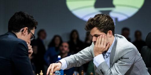 image: Carlsen opp i føringen