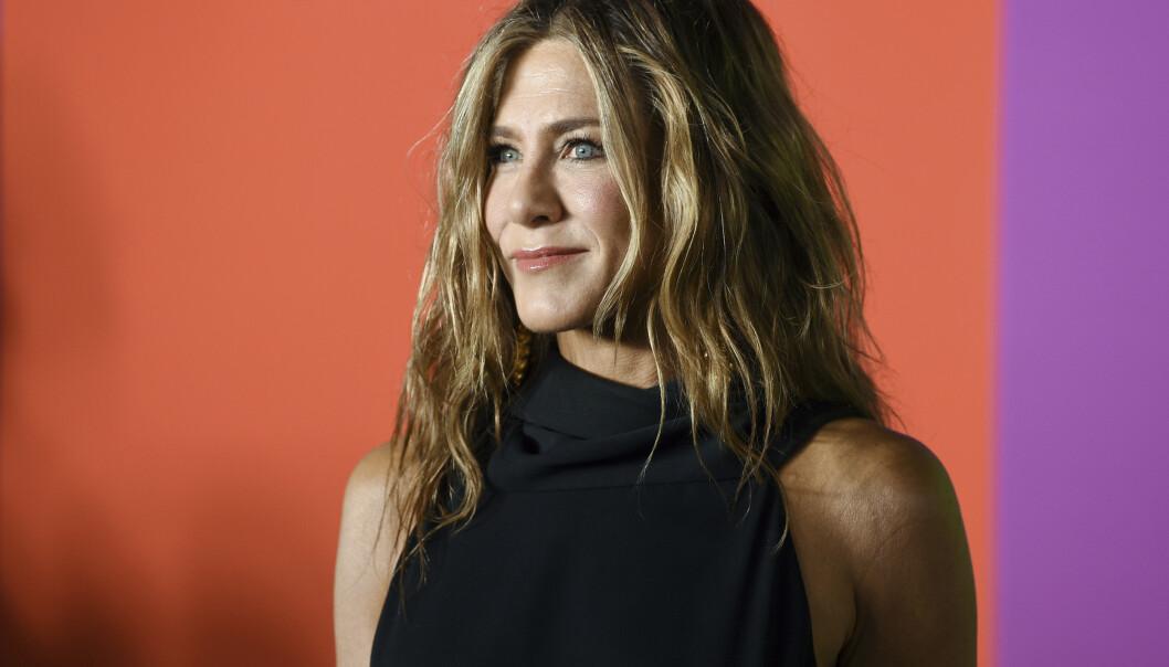 POPULÆR TV-SERIE: Skuespilleren gjorde stor suksess som Rachel Green i serien «Friends«, og bildet som hun nylig postet av alle skuespillerne samlet tok helt av på Instagram. FOTO: NTB scanpix