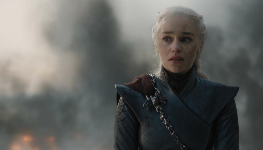 STOR SUKSESS: Emilia Clarkes karriere tok virkelig fart etter at vi så henne i rollen som Khaleesi i Game of Thrones.