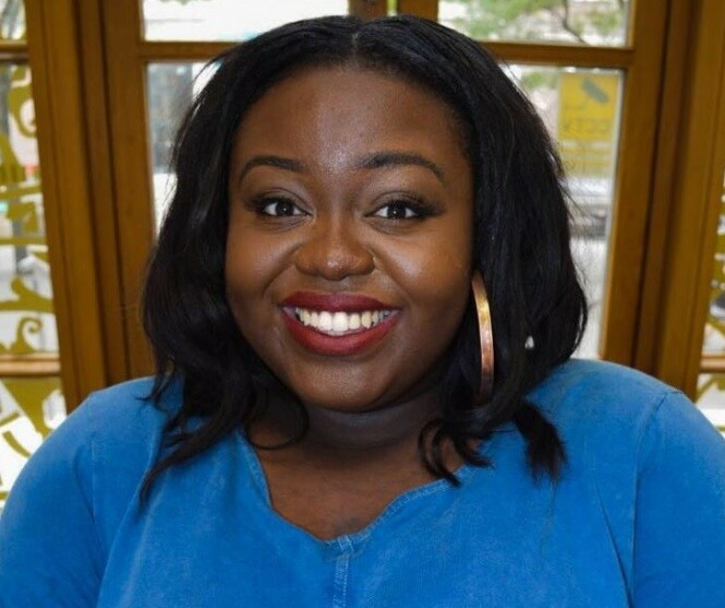 BEKYMRET: Den britiske juss-studenten Adwoa Darko har skrevet en kronikk for The Independent hvor hun beskriver det som at samfunnet er preget av såkalt «fatphobia». FOTO: Facebook