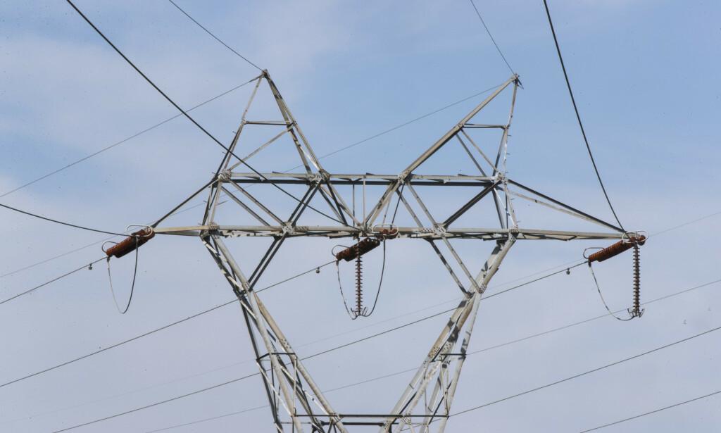 En svekket krone gir høyere strømpriser. Foto: Terje Pedersen / NTB scanpix