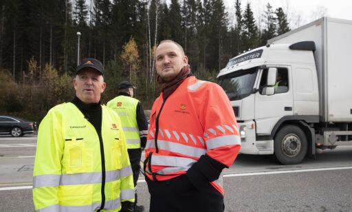 image: Over 100 sjåfører fikk kjøreforbud i nasjonal tungbilkontroll