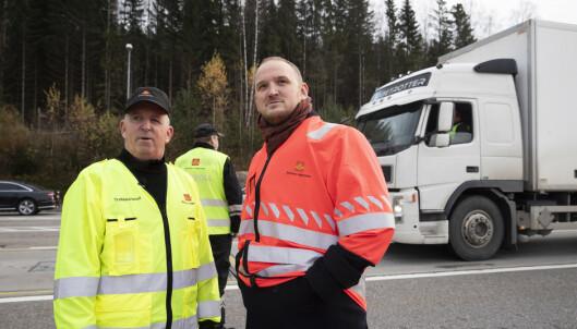Over 100 sjåfører fikk kjøreforbud i nasjonal tungbilkontroll