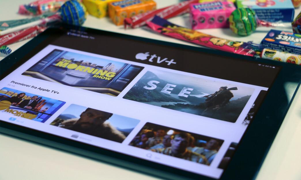 <strong>KLAR:</strong> I dag ble Apples nye TV-strømmetjeneste lansert i selskapets egen TV-app. Foto: Kirsti Østvang