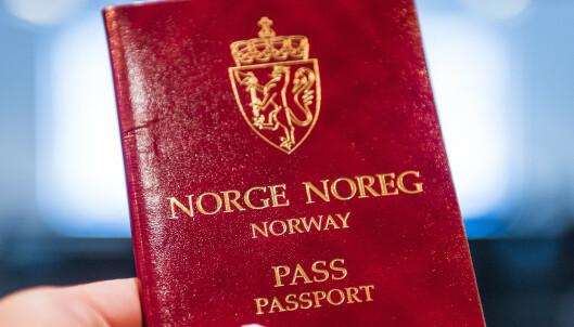 Norge åpner for dobbelt statsborgerskap fra nyttår